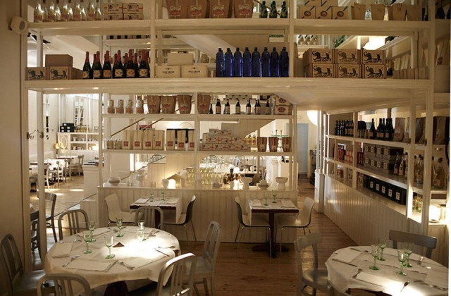 Located in Madrids lively gay district, Bazaar is a restaurant that draws in customers for its fresh and appealing dcor and Mediterranean cuisine.
