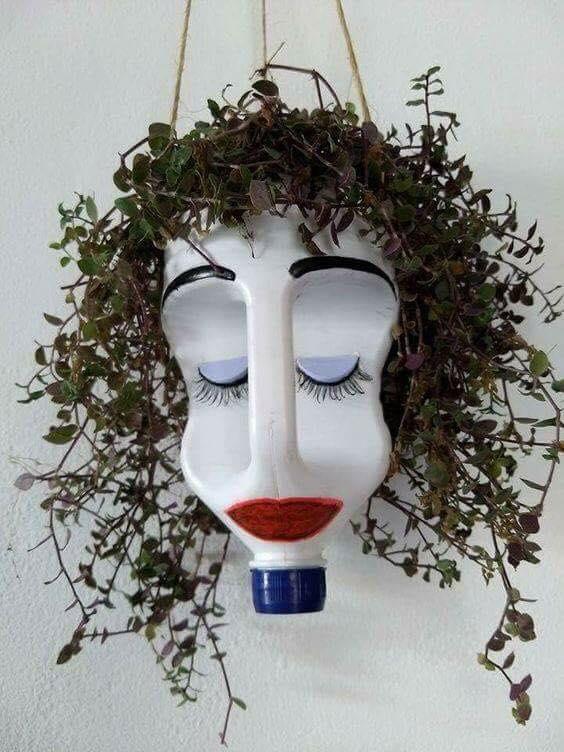 plant hanger face