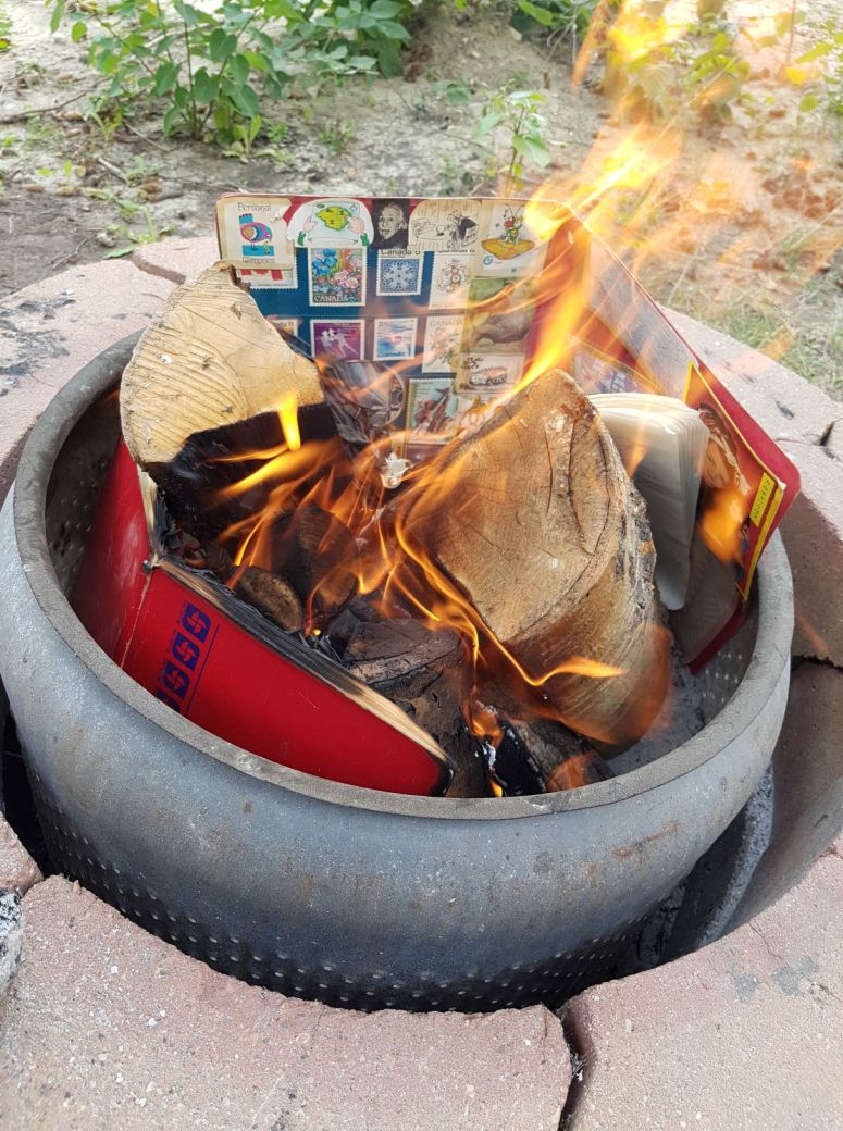 burning journals
