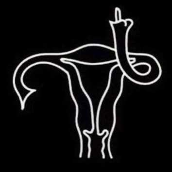 uterus gives the finger
