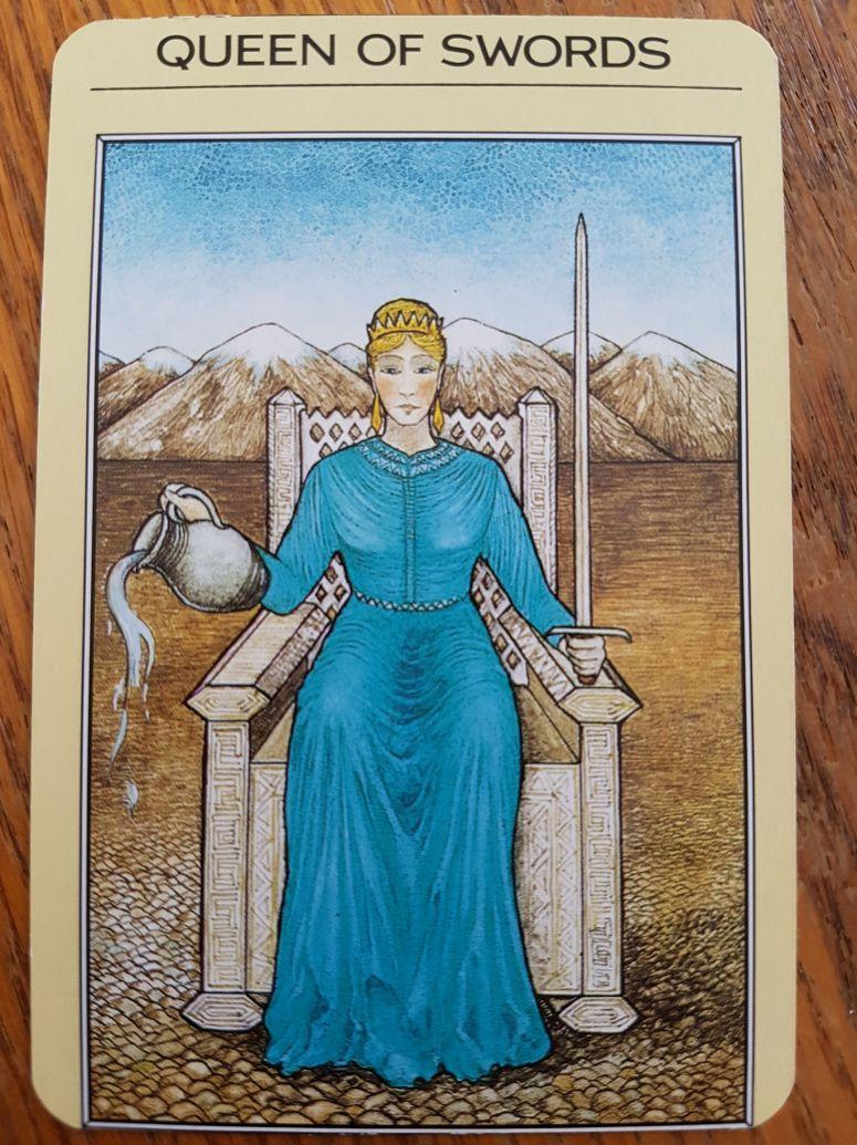 Queen of Swords - Mystic