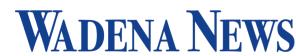 Click here to go to the Wadena News website